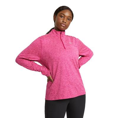 Nike Element Damen Halb-Reißverschluss laufhemd - SP21