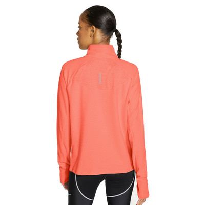 Nike Sphere Damen Halb-Reißverschluss laufhemd - SP21