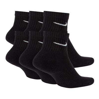 Nike Everyday Cushioned Training Ankle calcetines (6 Pack) - FA21