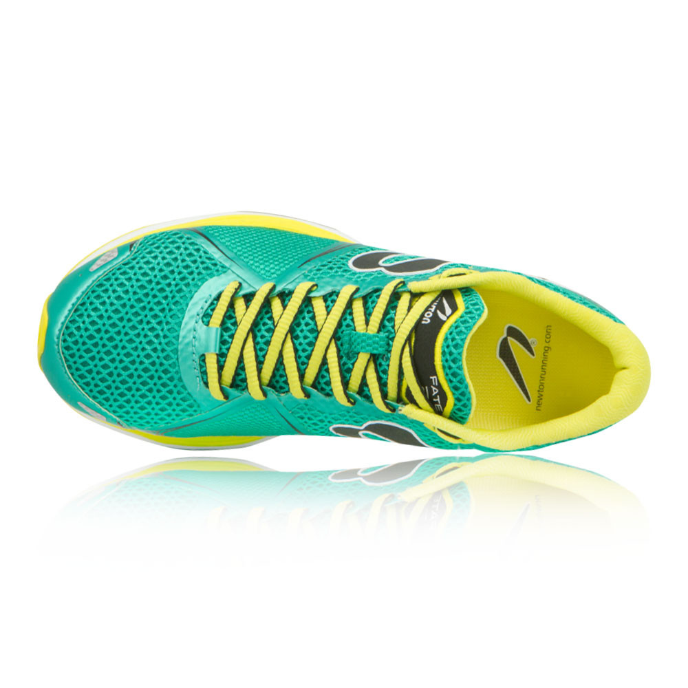 Newton Fate II Womens Green Cushioned Trainers Running Road Sports Shoes Trainers Cushioned e97466