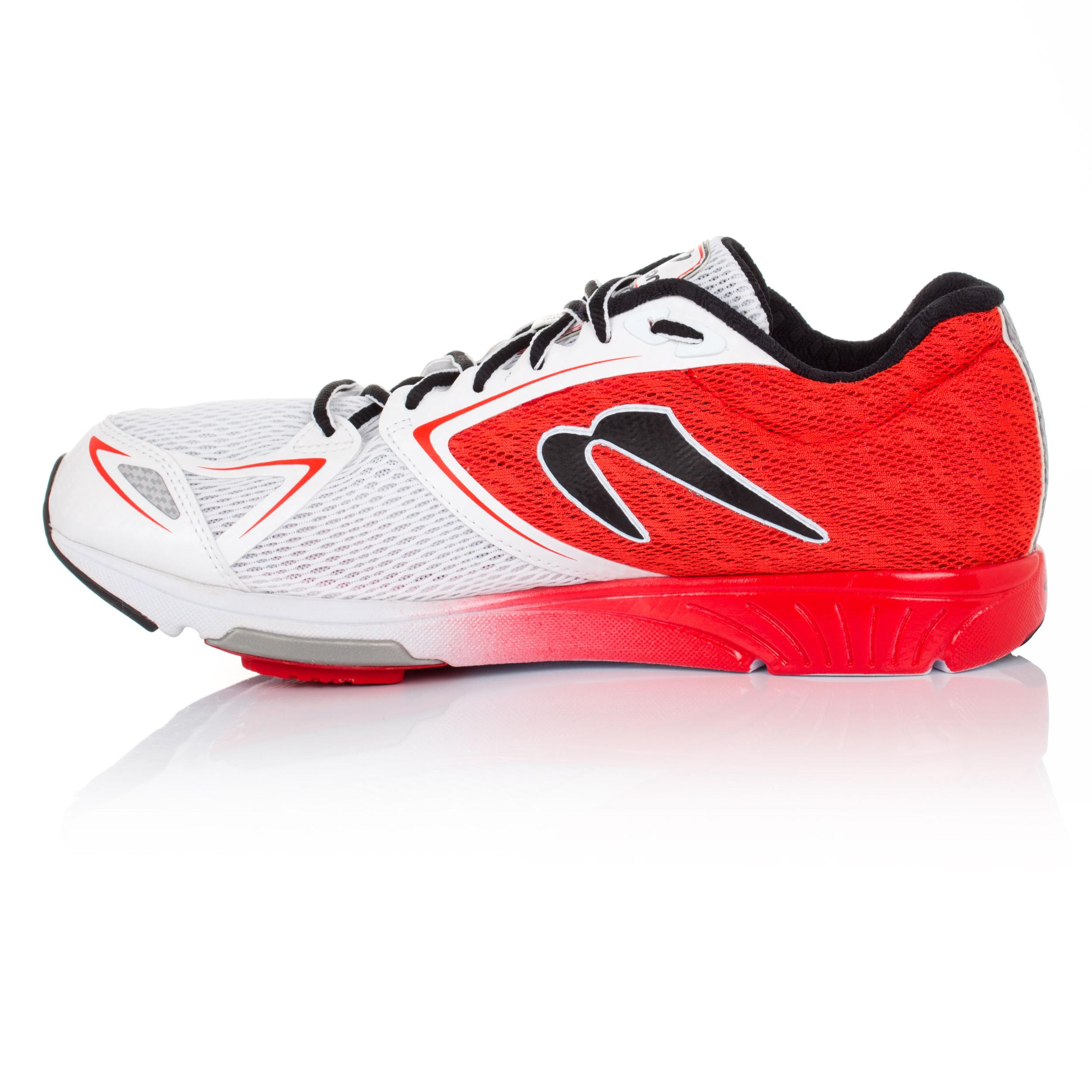 newton distance vi mens white cushioned running sports