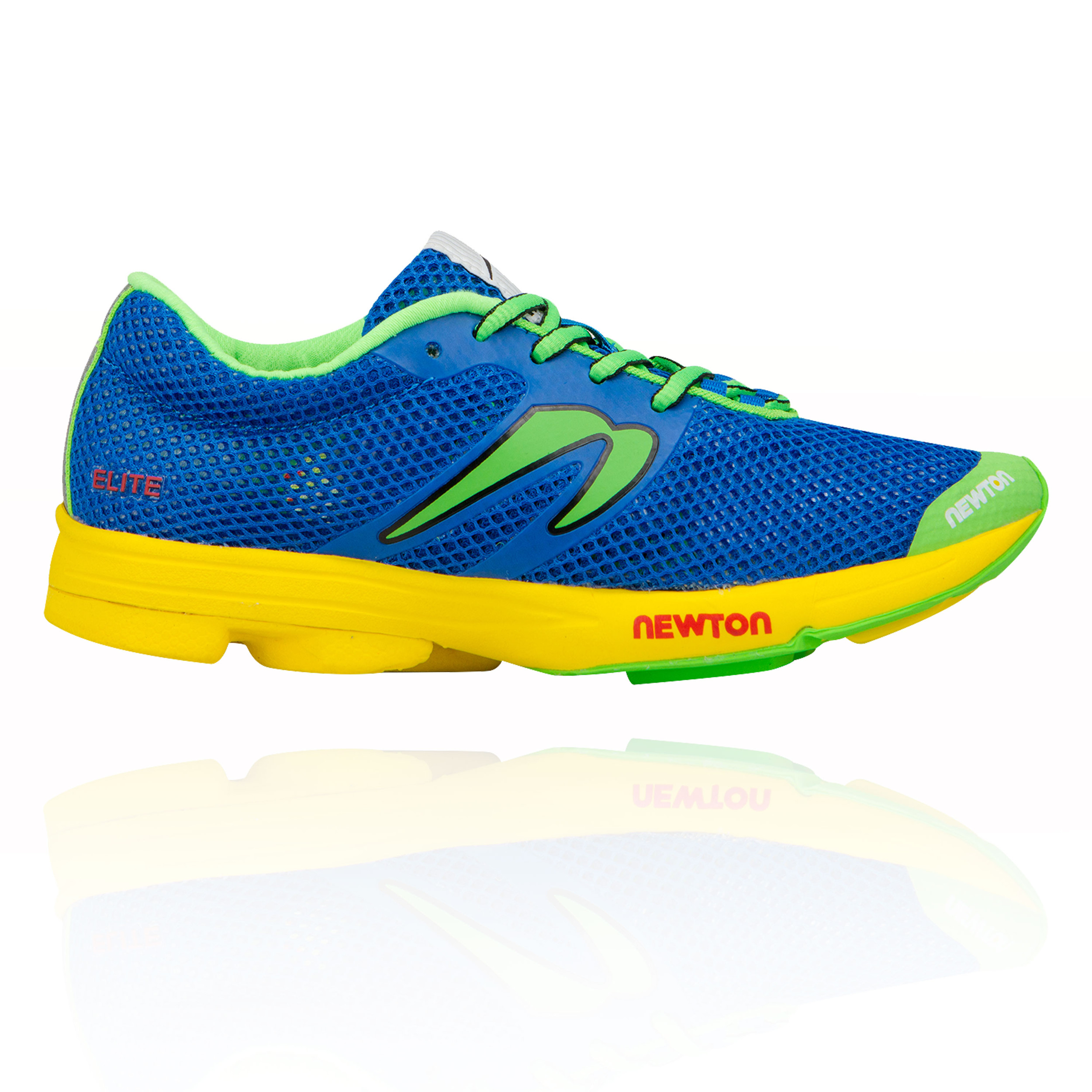 Details About Newton Womens Distance Elite Womens Running Shoe Blue Sports Breathable
