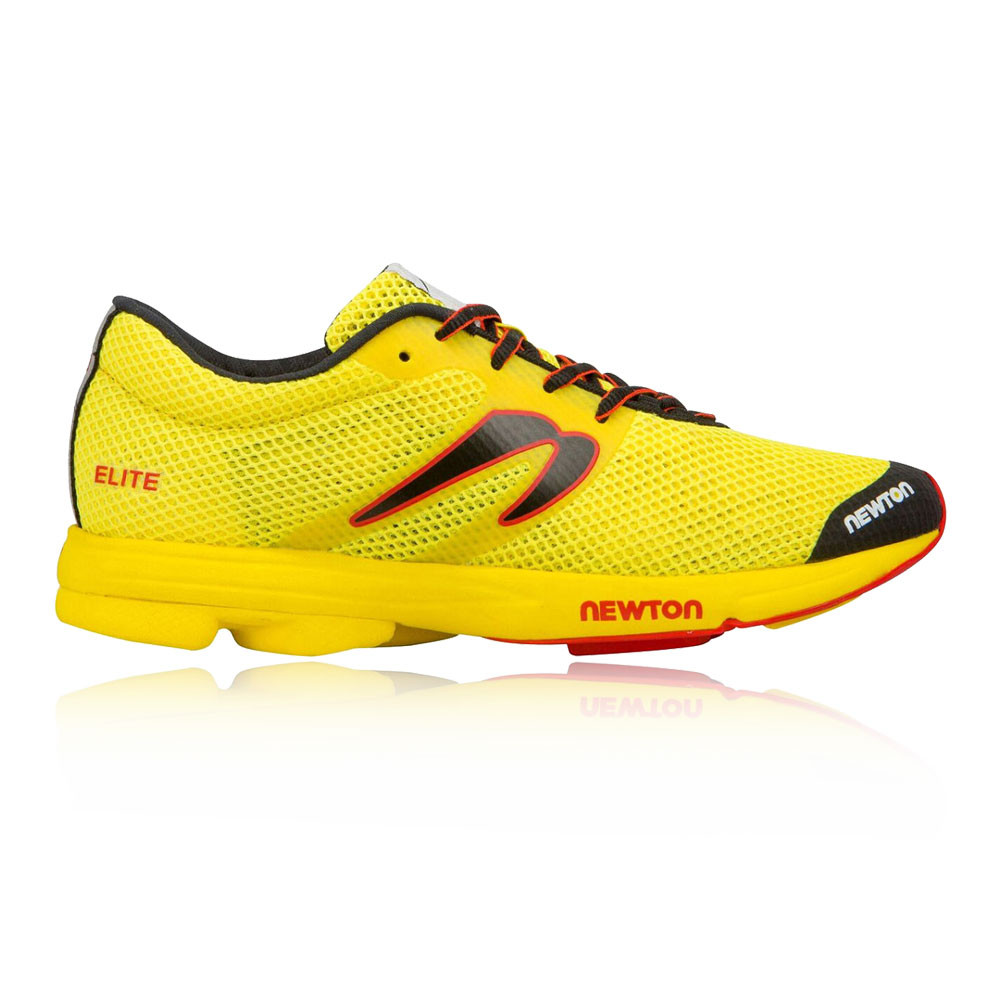promo code d67fd 239a6 Newton Womens Distance Elite Running Shoes Trainers Sneakers Yellow Sports