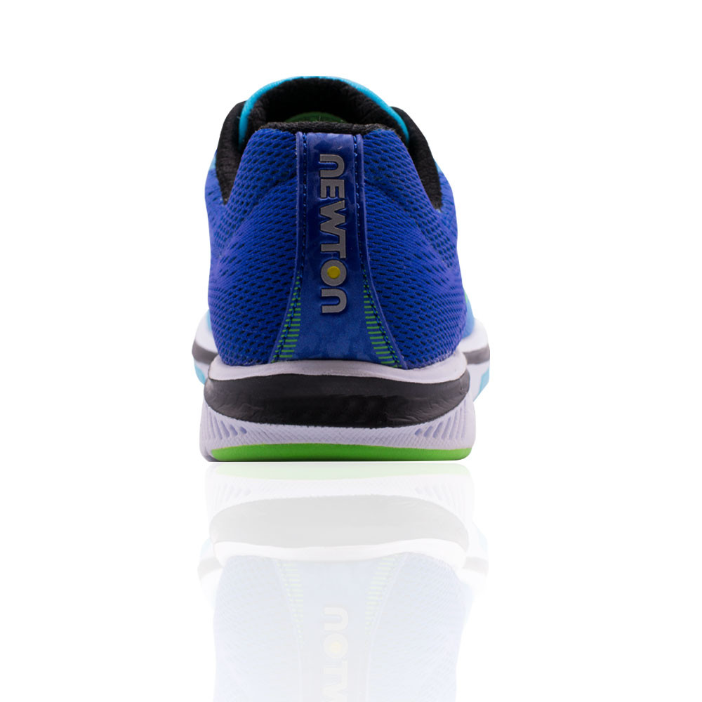 Dettagli su Newton Donna Gravity 8 Scarpe da Ginnastica Corsa Sport Blu Traspirante