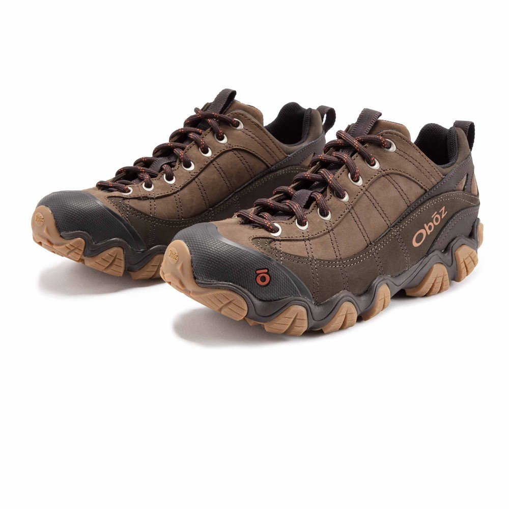 Oboz Firebrand II Leather Low Walking Shoes - AW20