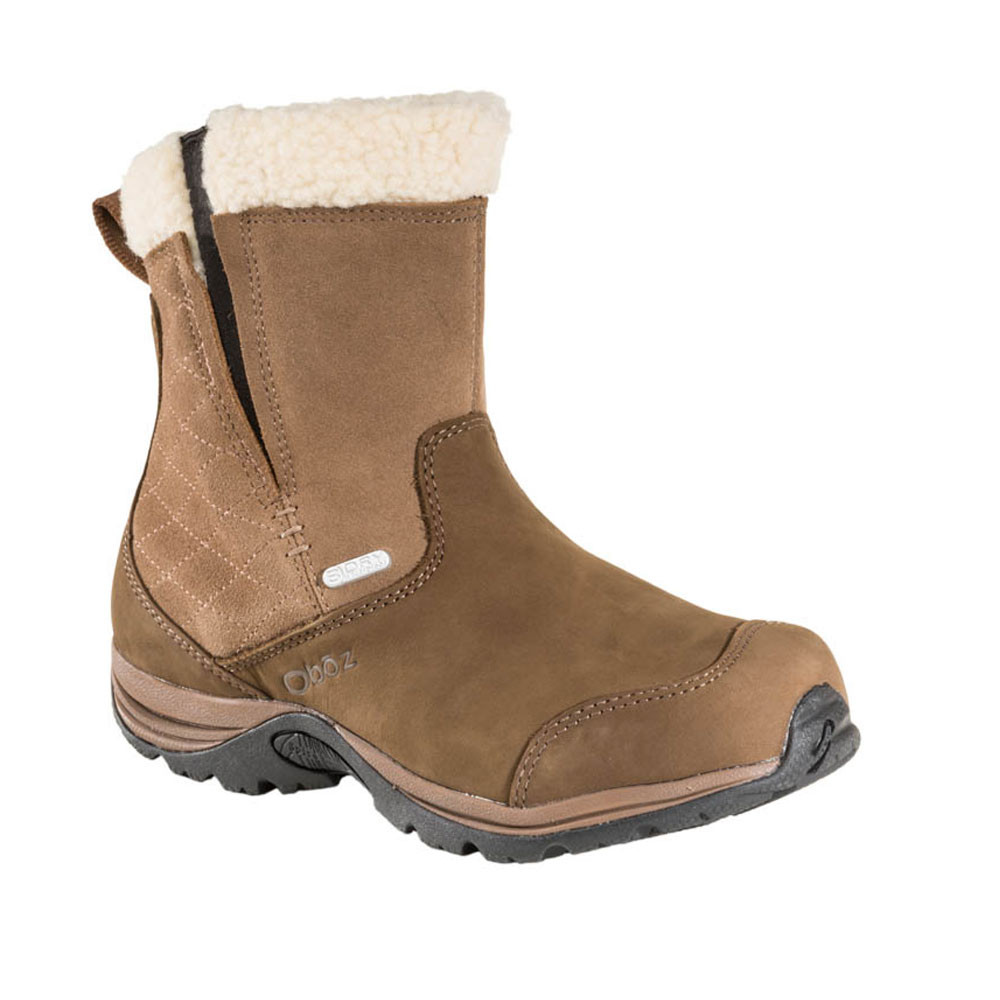 Oboz-Moonlight-BDRY-Insulated-Mujer-Marron-Impemeable-Caminar-Zapatos-Botas
