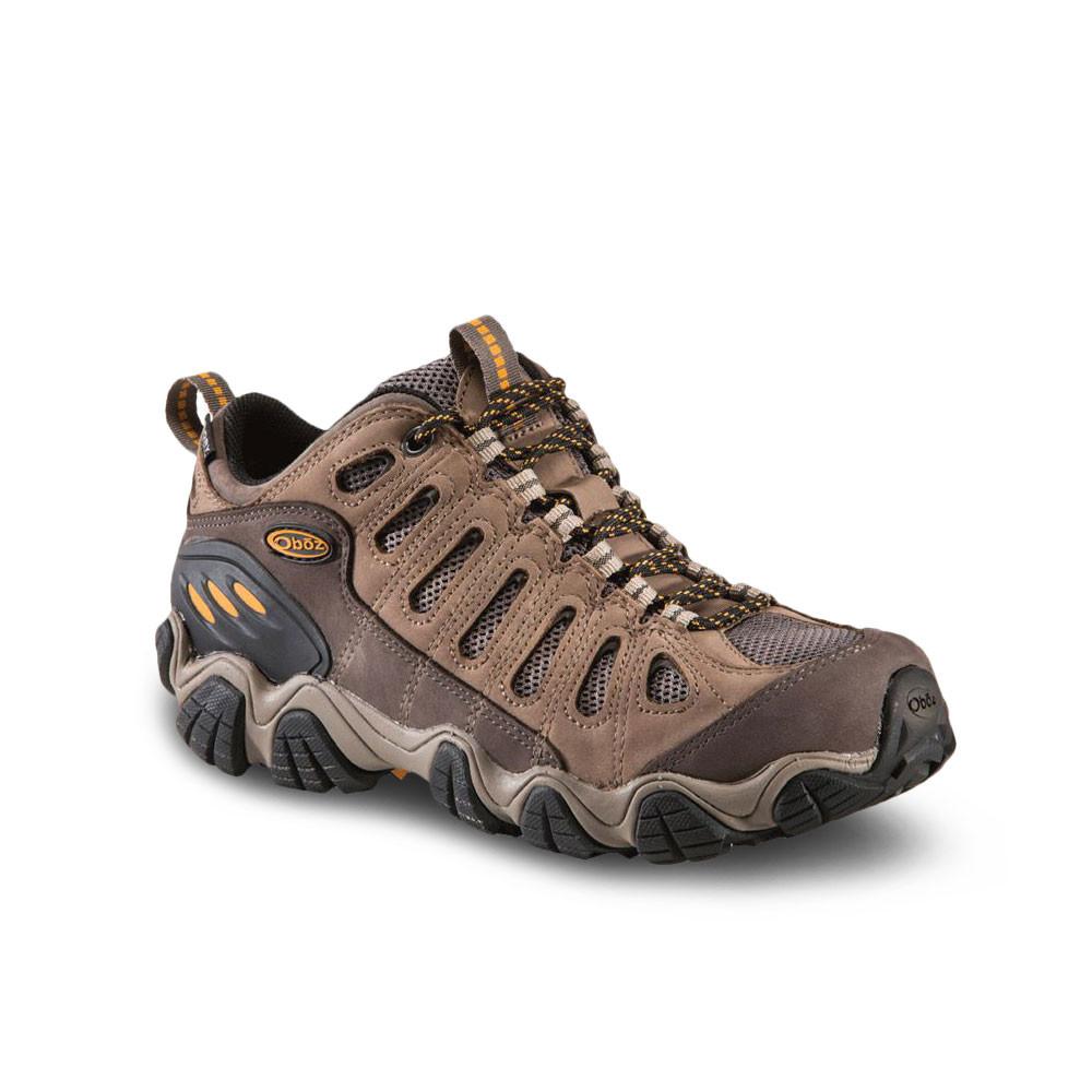 Oboz Oboz Oboz Sawtooth Low Bdry Mens braun Walking Outdoors Sports schuhe Trainers 7ebfed