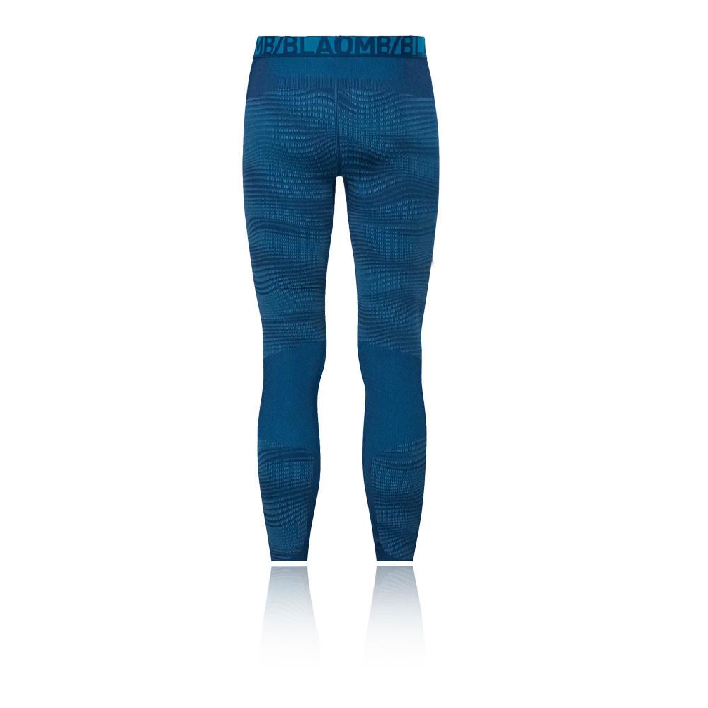 Détails sur Odlo Homme Blackcomb Performance Leggings Bas De Survêtement Pantalon Sport Bleu