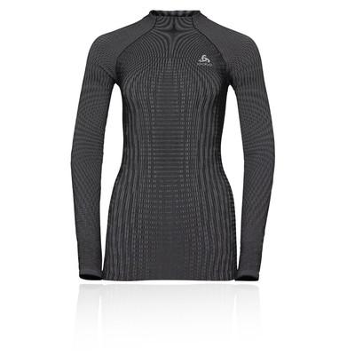 Odlo Futureskin Warm para mujer Long-Sleeve top de cuella rondada  - AW19
