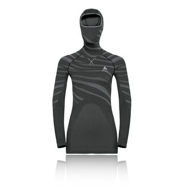 Odlo Blackcomb Women's Long-Sleeve Facemask Top