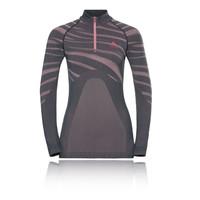 Odlo Blackcomb Women's 1/2 Zip Long-Sleeve Turtleneck - AW18