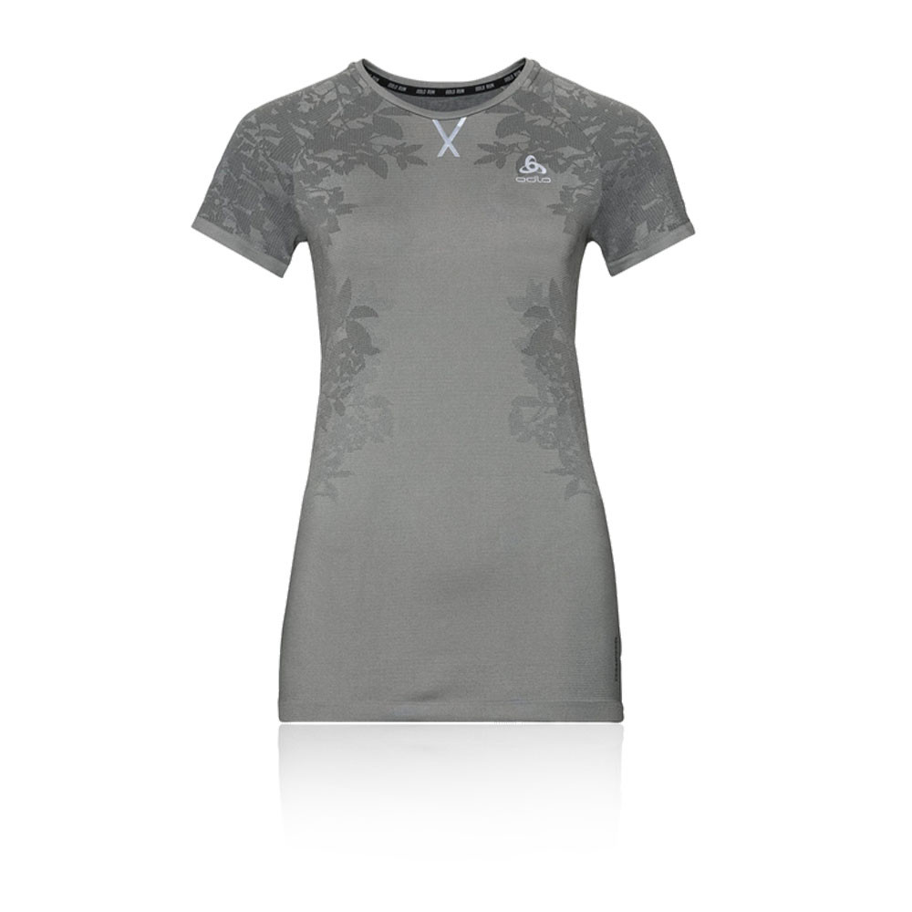 Odlo Ceramicool Blackcomb Women's Crew Neck T-Shirt - SS19