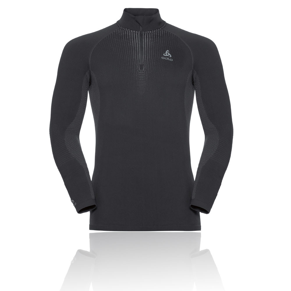 Odlo Performance Warm Bl Top Media cremallera Turtle Neck Top - AW19