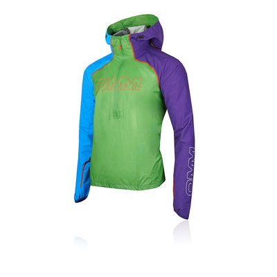 OMM Unisex Kamleika Smock Blue Purple Red Sports Running Hooded Waterproof