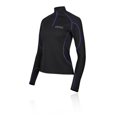 OMM Meridian cremallera para mujer camiseta de running - AW19
