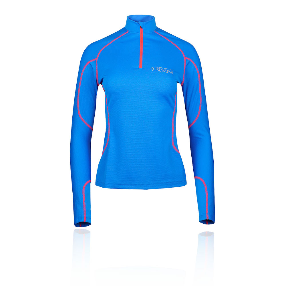 OMM Meridian Zip Women's Running Top - AW20