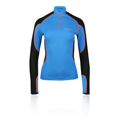 OMM Meridian cremallera para mujer camiseta de running - SS20