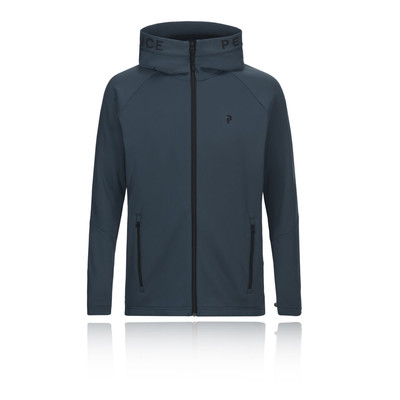 Peak Performance Rider Midlayer Zip-Up Hooded Jacket