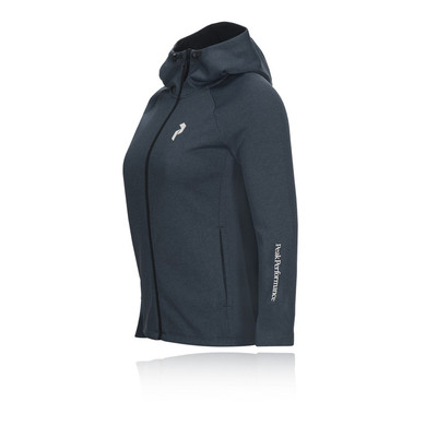 Peak Performance Pulse Zip-Up Midlayer para mujer Hoodie - SS19