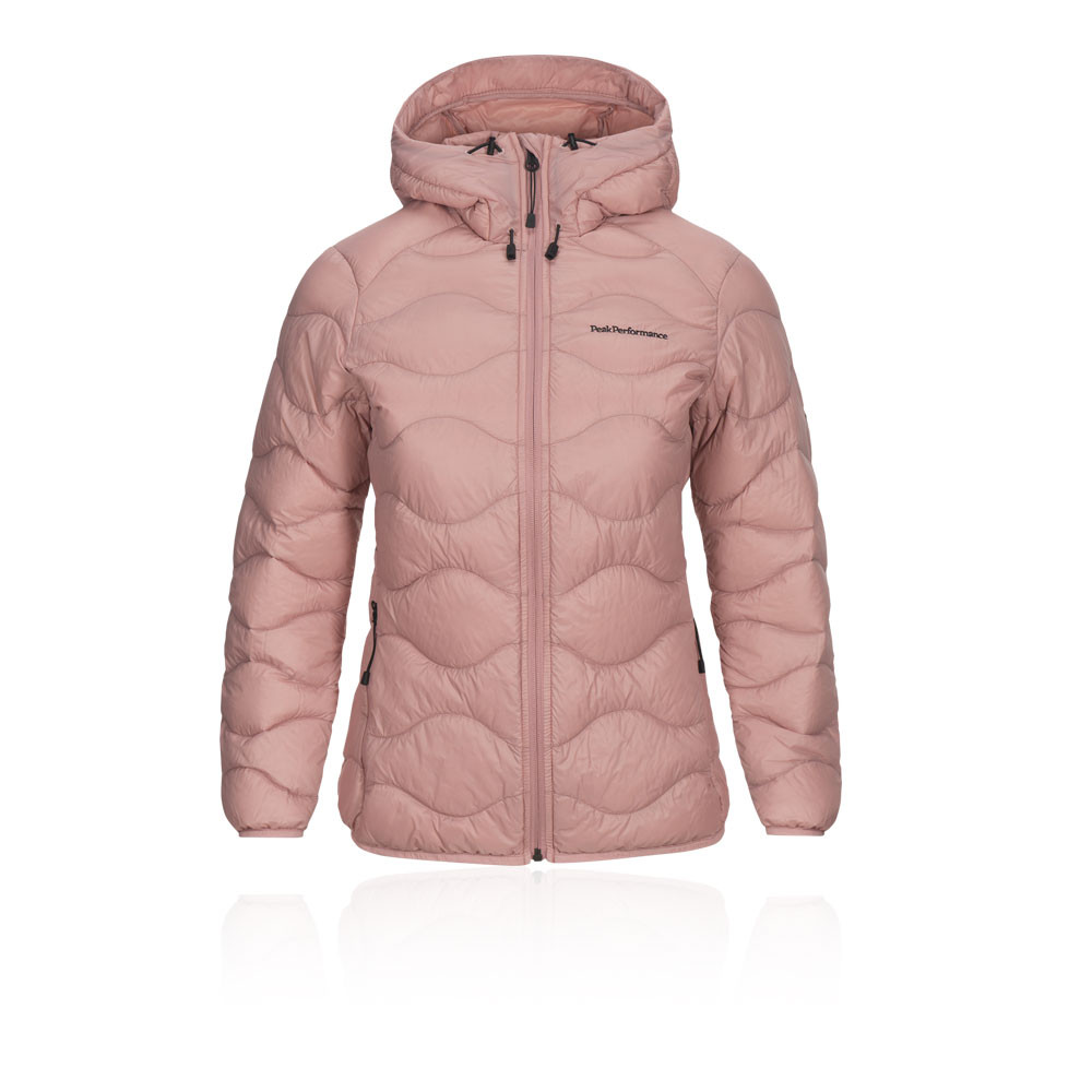 the latest cfea3 bd2a0 Peak Performance Helium Damen Hooded jacke - SS19