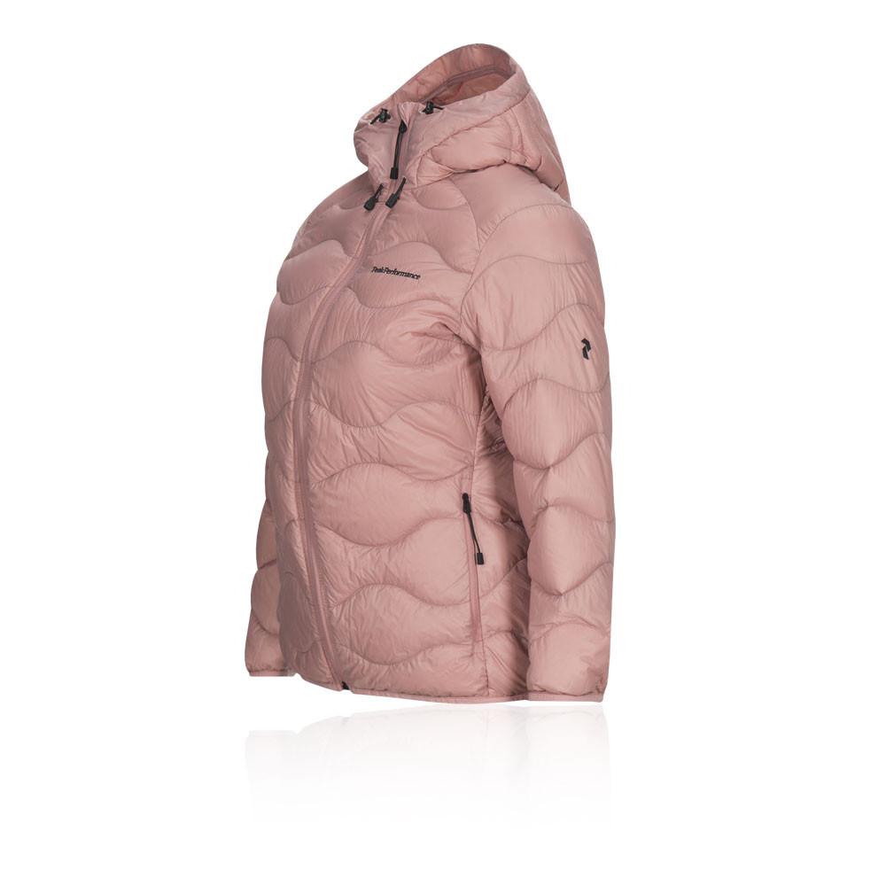 0bc8052305ab2c Peak Performance Damen Helium Kapuzenjacke Jacke Top Rosa Sport Outdoor  Trekking