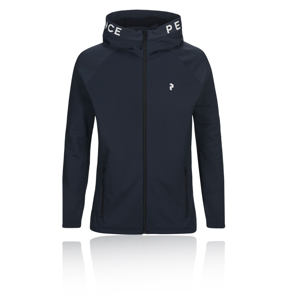 Peak Performance Rider cremallera Hooded chaqueta - AW20