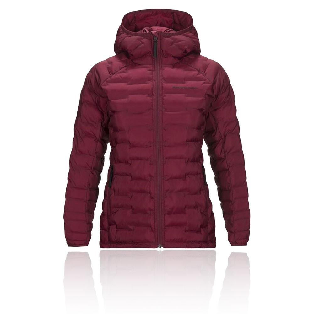 Peak Performance Argon Light Hooded para mujer chaqueta - AW19