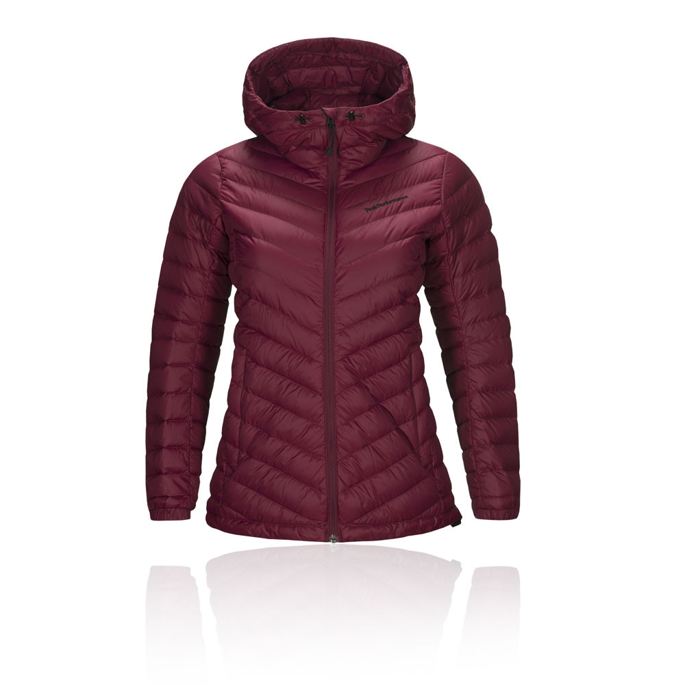 Peak Performance Frost Down Hooded Women's Jacket - AW19