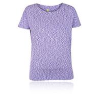 Pure Lime Women's Melange Hem T-Shirt