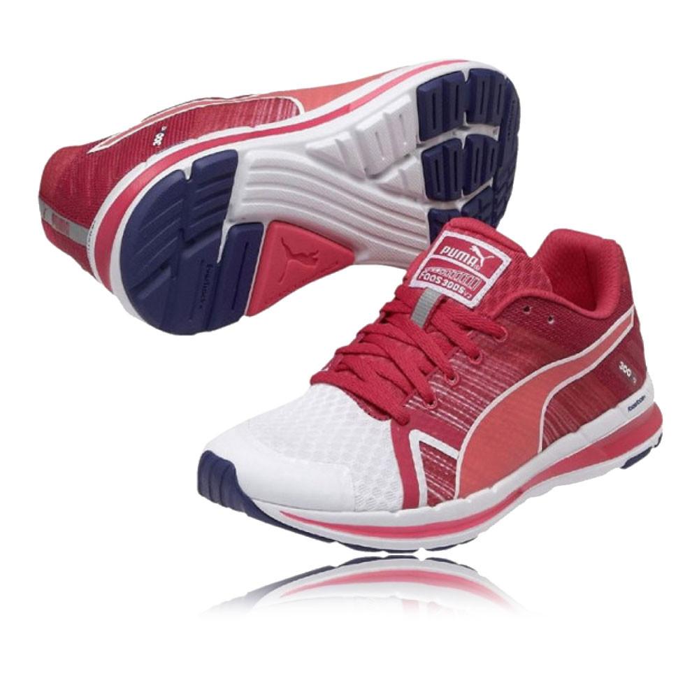 Détails sur Puma Femmes Faas 300 S V2 Chaussures Course À Pied Baskets Sport Running Rouge