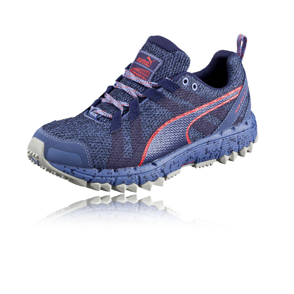Puma Faas 500 S v2 Womens Purple Trail Running Sports Shoes Trainers ... 9050c81f2