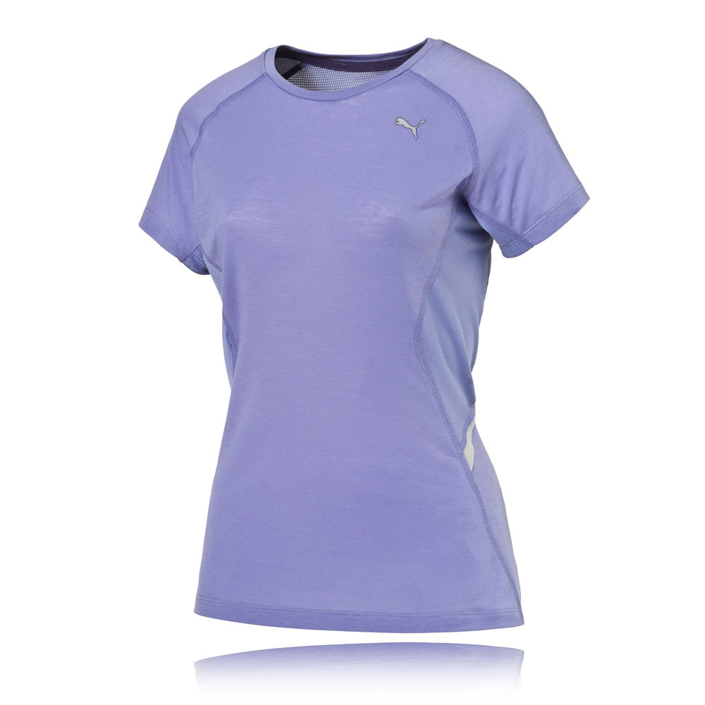 Puma women 39 s running t shirt for Women s running shirts