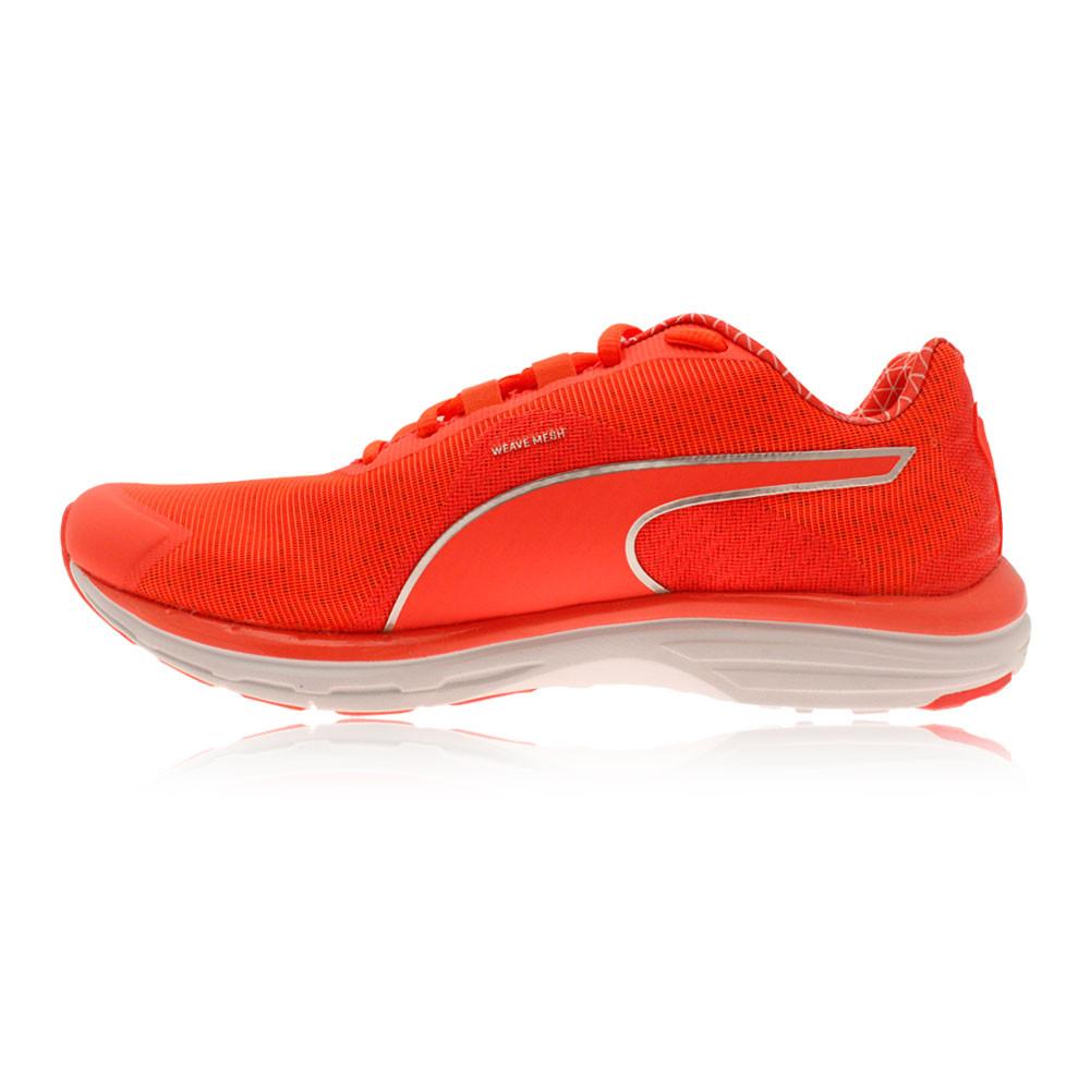 Détails sur Puma Faas 500V4 Pwrwarm Femme Orange Amorti Running Sport Chaussures Baskets