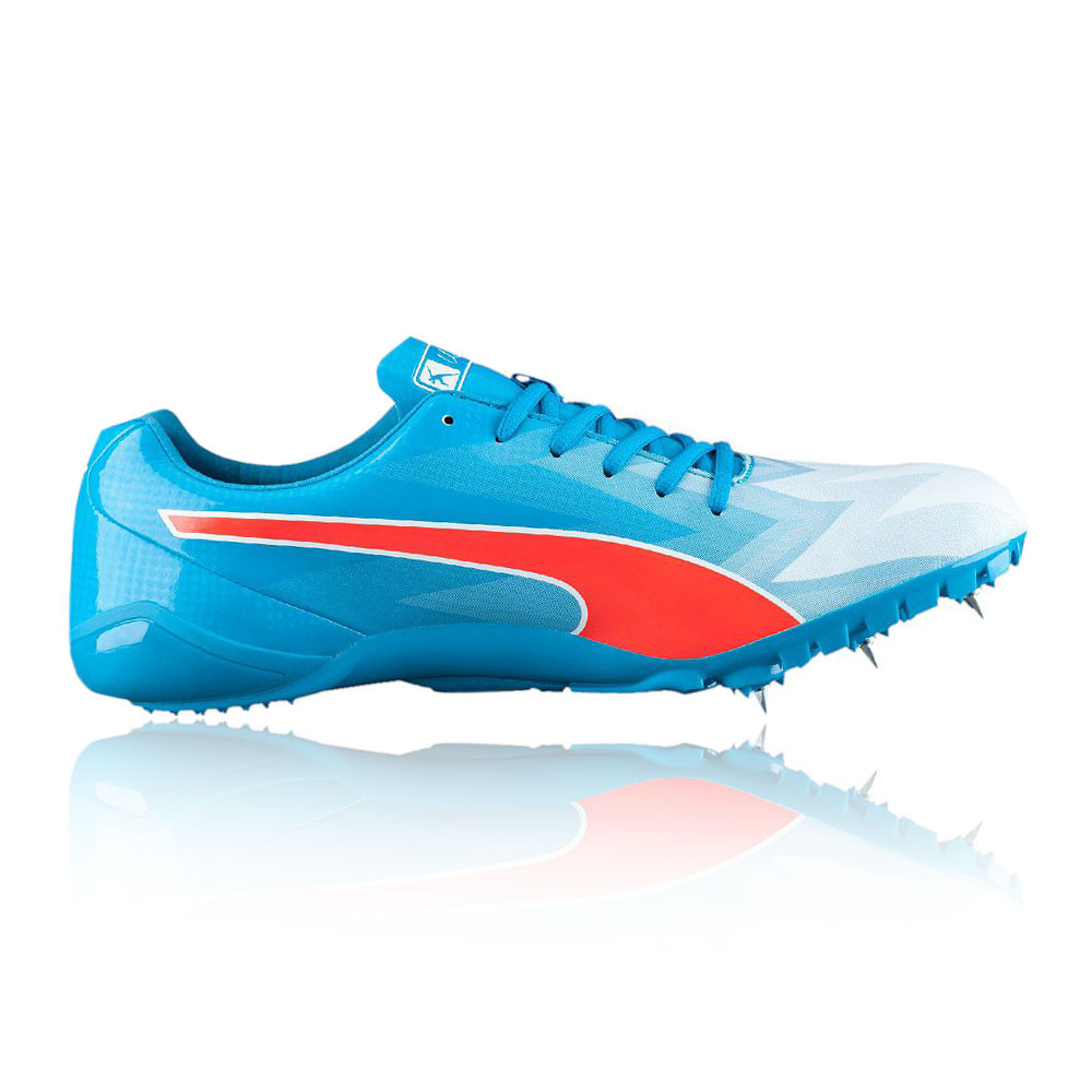 5a1cbfc31d6007 Puma Bolt evoSPEED Electric v3 Mens Blue Athletic Running Spikes Sports  Shoes