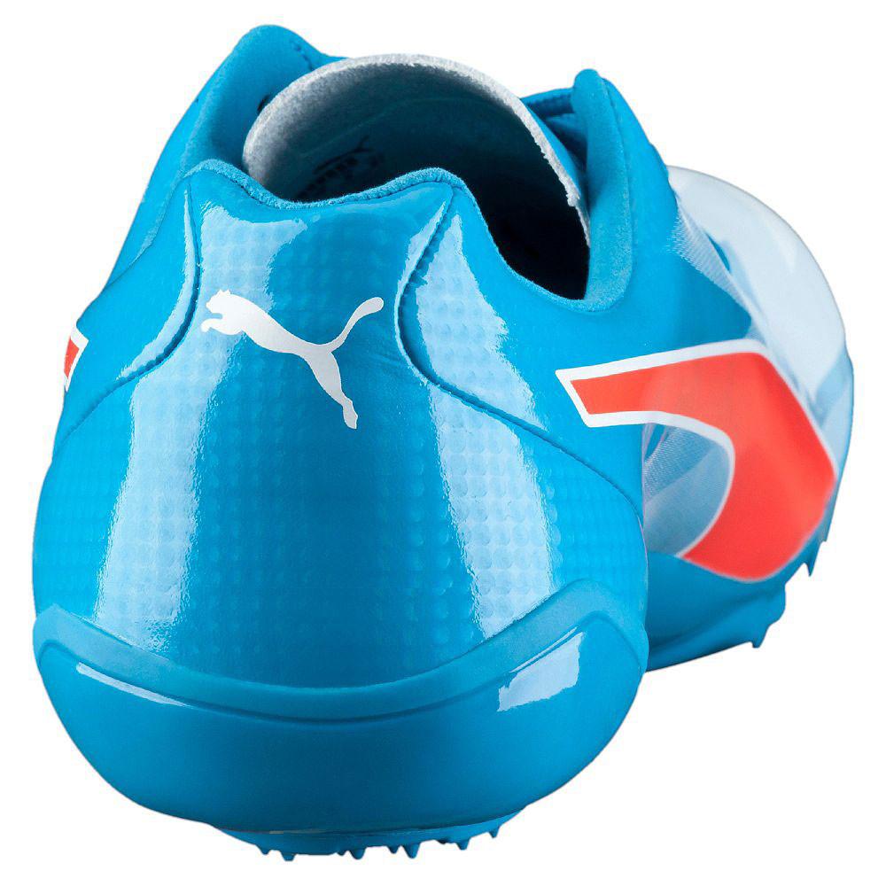 Puma Bolt evoSPEED Electric v3 homme Bleu athlétique fonctionnement Spikes Spikes fonctionnement Sports chaussures 231176