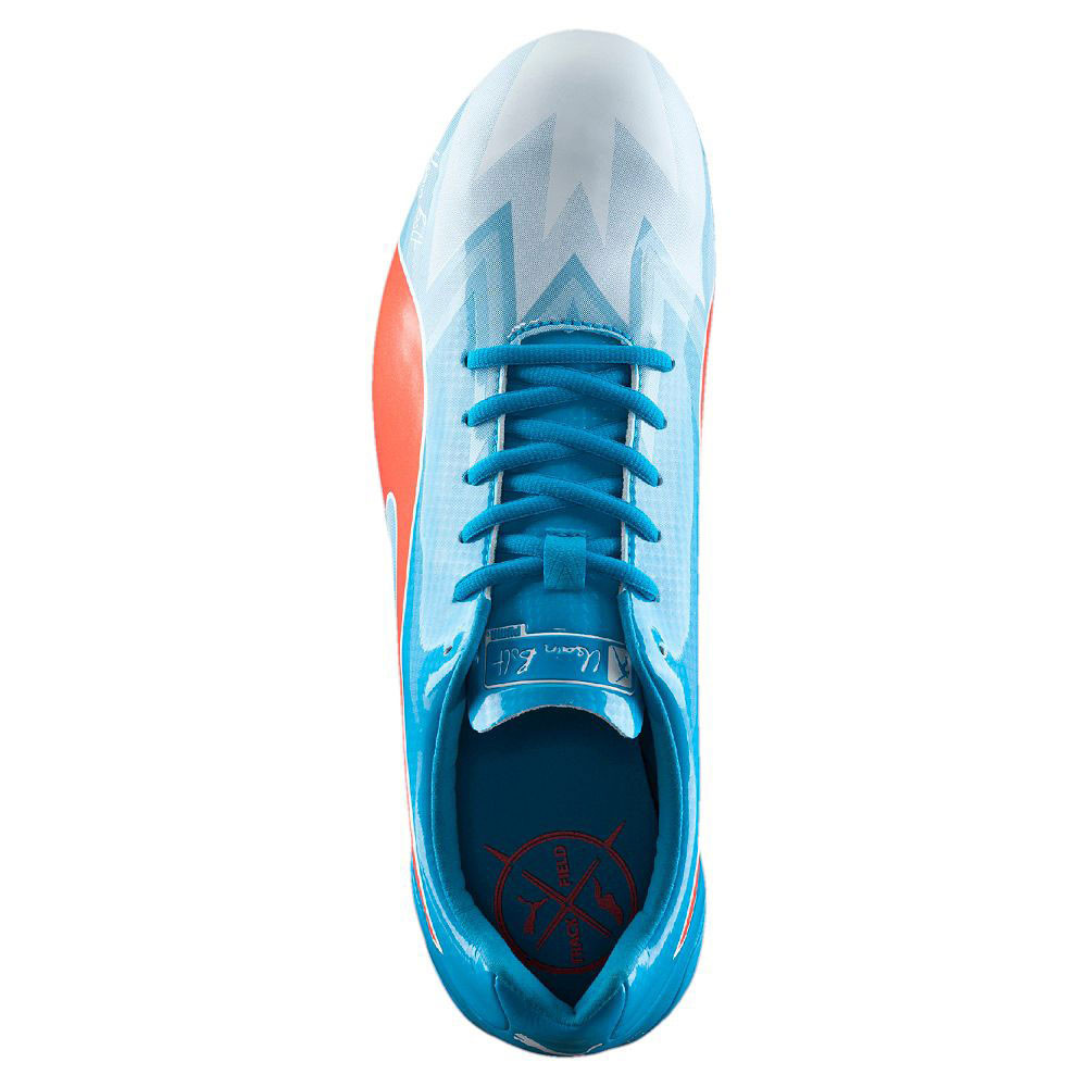 Puma Bolt evoSPEED Electric v3 Mens Blue Athletic Running Spikes Sports  Shoes b77ce4e68