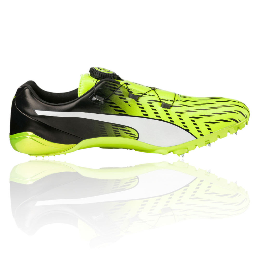 Puma-EvoSPEED-Disc-3-Mens-Yellow-Running-Field-
