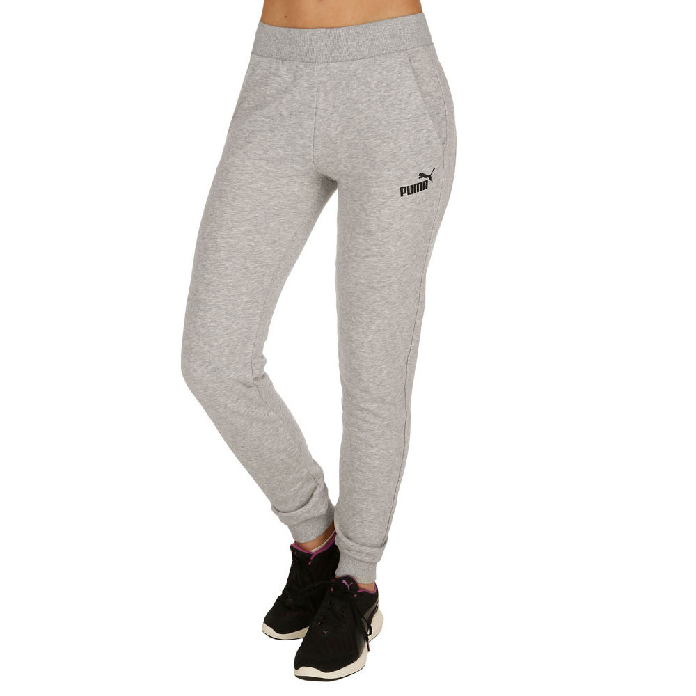 View all ladies clothing Browse our womens tracksuit bottoms range for a great all round option. Whether you plan on relaxing at home, or working out at the gym a ladies tracksuit pant is a great choice. Our range includes the big brands such as Puma, Nike, LA Gear, Umbro and more, all at hugely discounted prices.