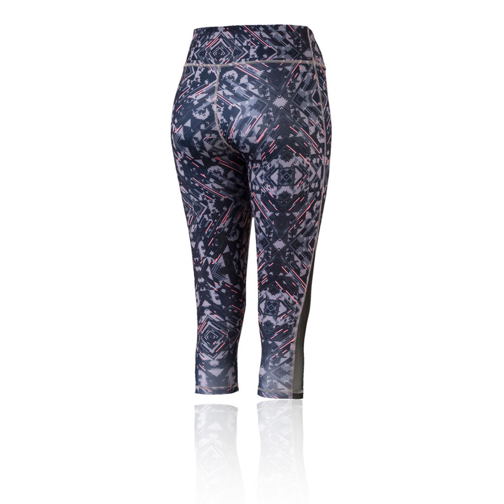 c89a4618f8e99 Puma Womens All Eyes On Me 3/4 Mesh Training Gym Fitness Tights Bottoms  Pants