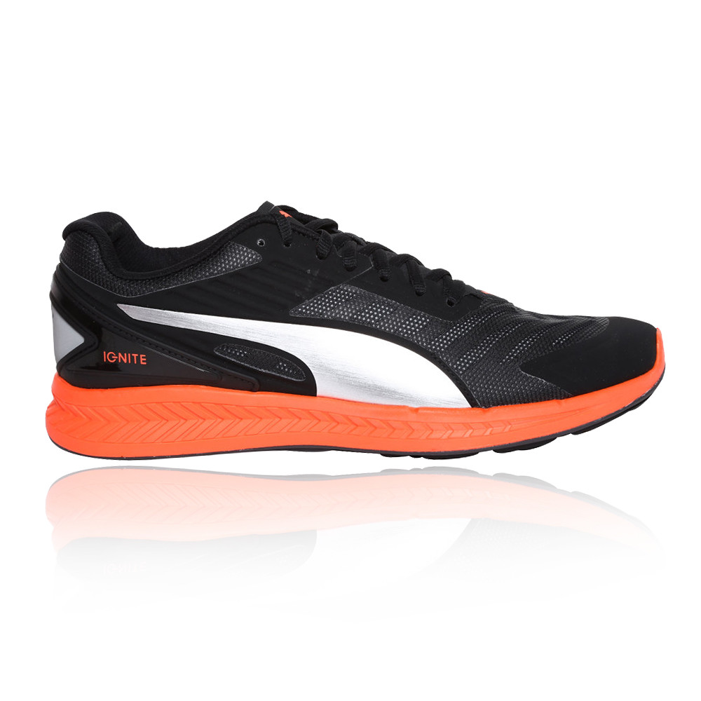 c015335fc55b Details about Puma Mens Ignite V2 Running Shoes Trainers Sneakers Black  Sports Breathable