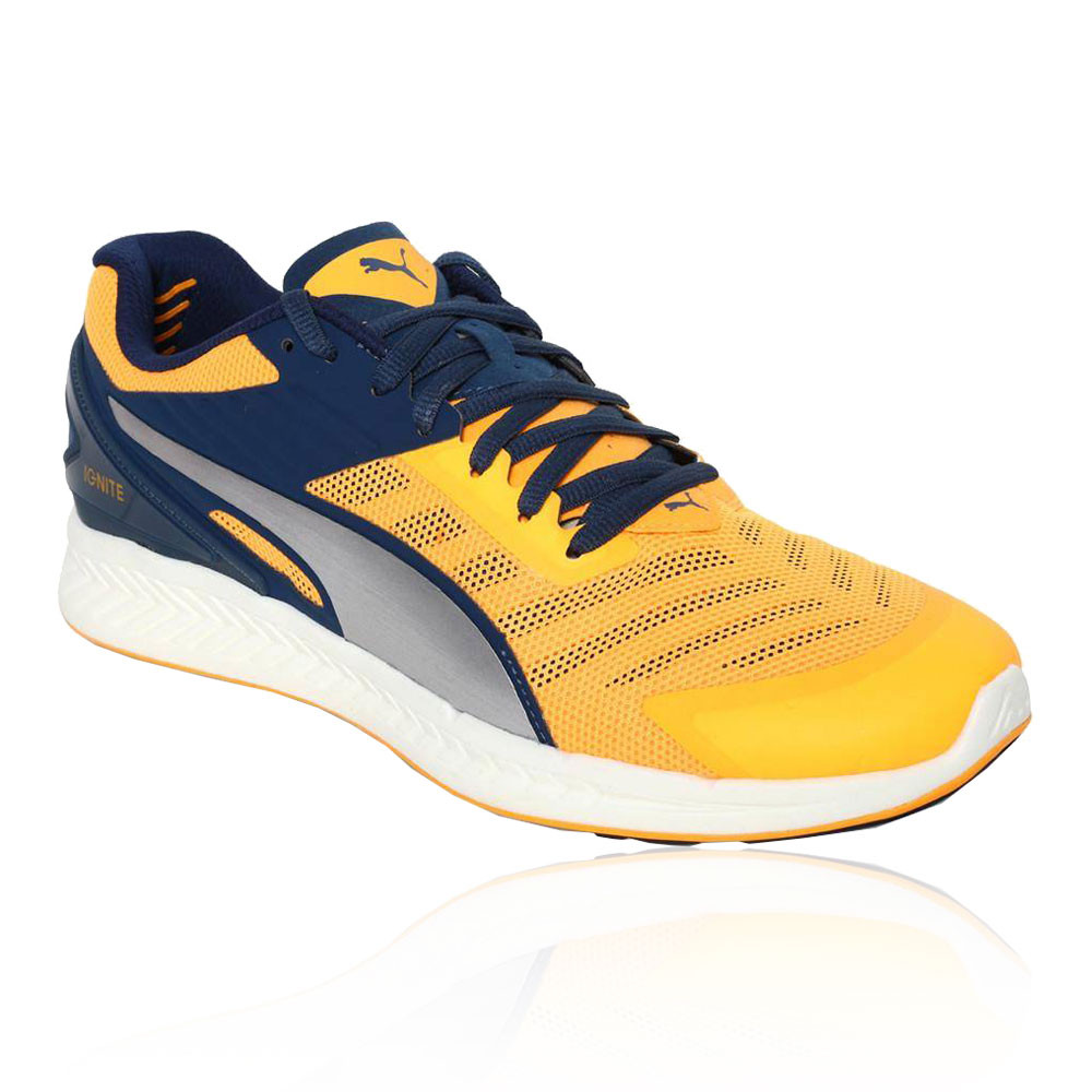 bbb399d364 Details about Puma Mens Ignite V2 Running Shoes Trainers Sneakers Yellow  Sports Breathable