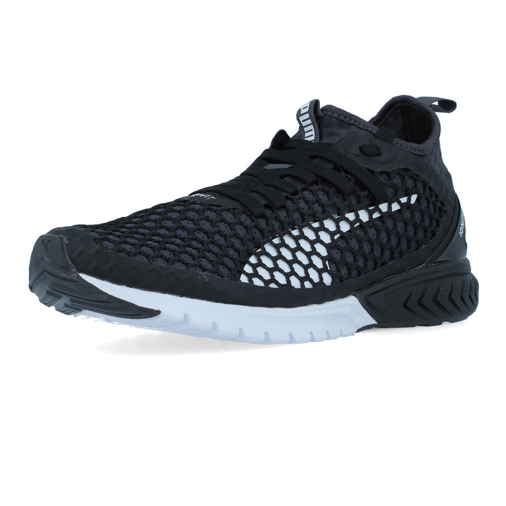 Puma Womens IGNITE Dual NETFIT Running Shoes Trainers Sneakers Black Sports 2e996eca3