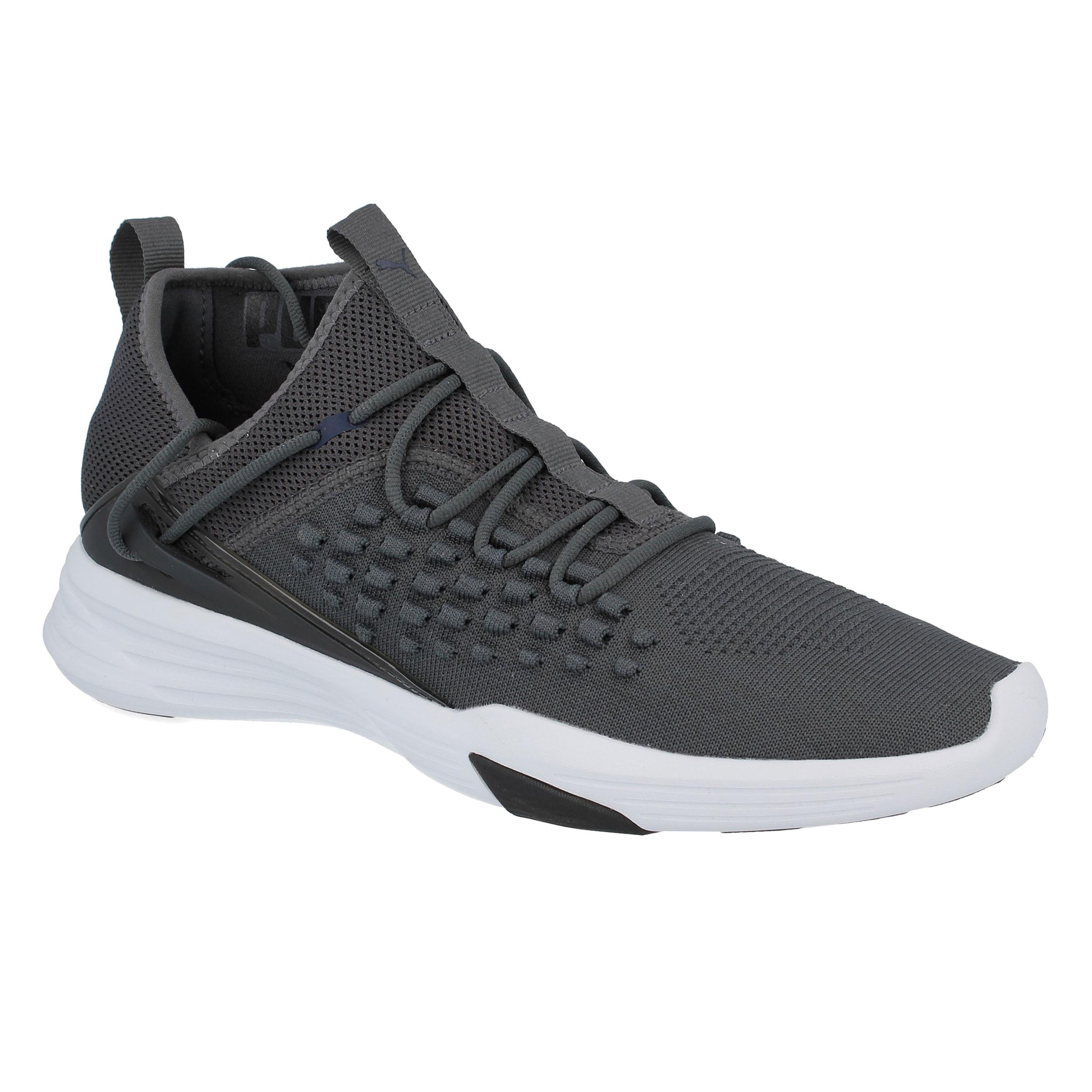 2b939b91765 Puma Mens Mantra Fusefit Training Gym Fitness Shoes Grey Breathable Trainers