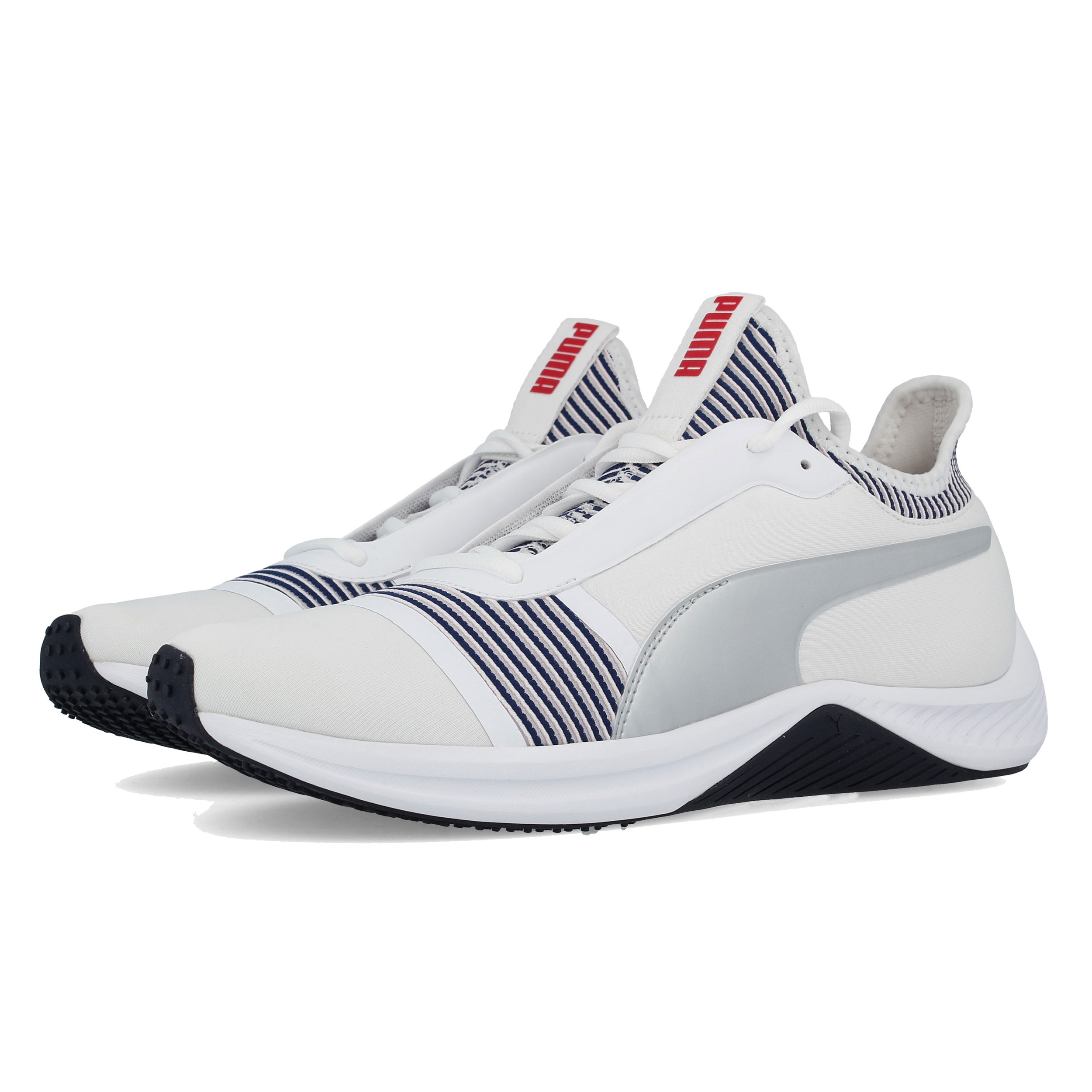 6e1f0a74942047 Details about Puma Womens Amp XT Fitness Shoes White Sports Gym Lightweight  Trainers