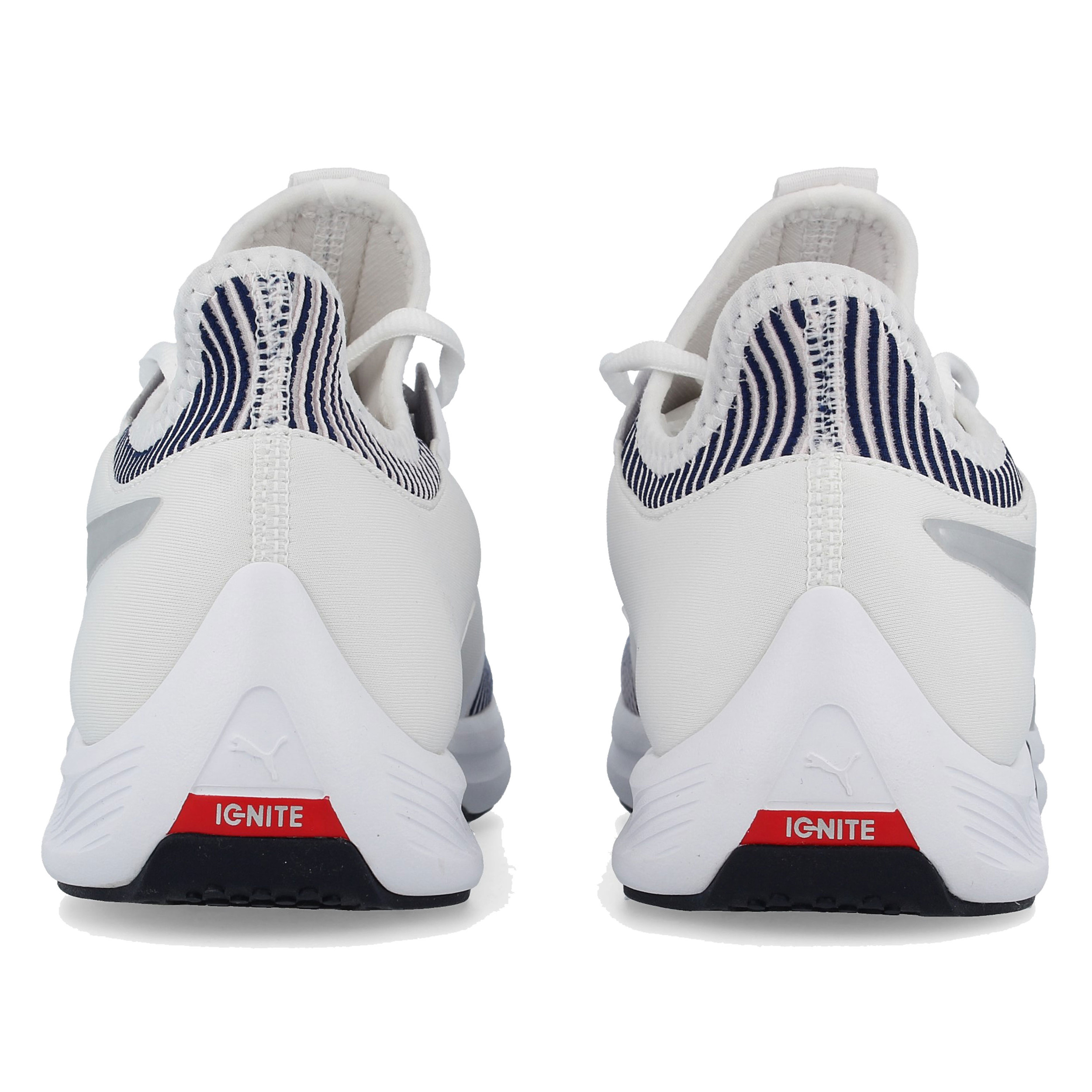 c7d0bccfb93 Puma Womens Amp XT Fitness Shoes White Sports Gym Lightweight Trainers