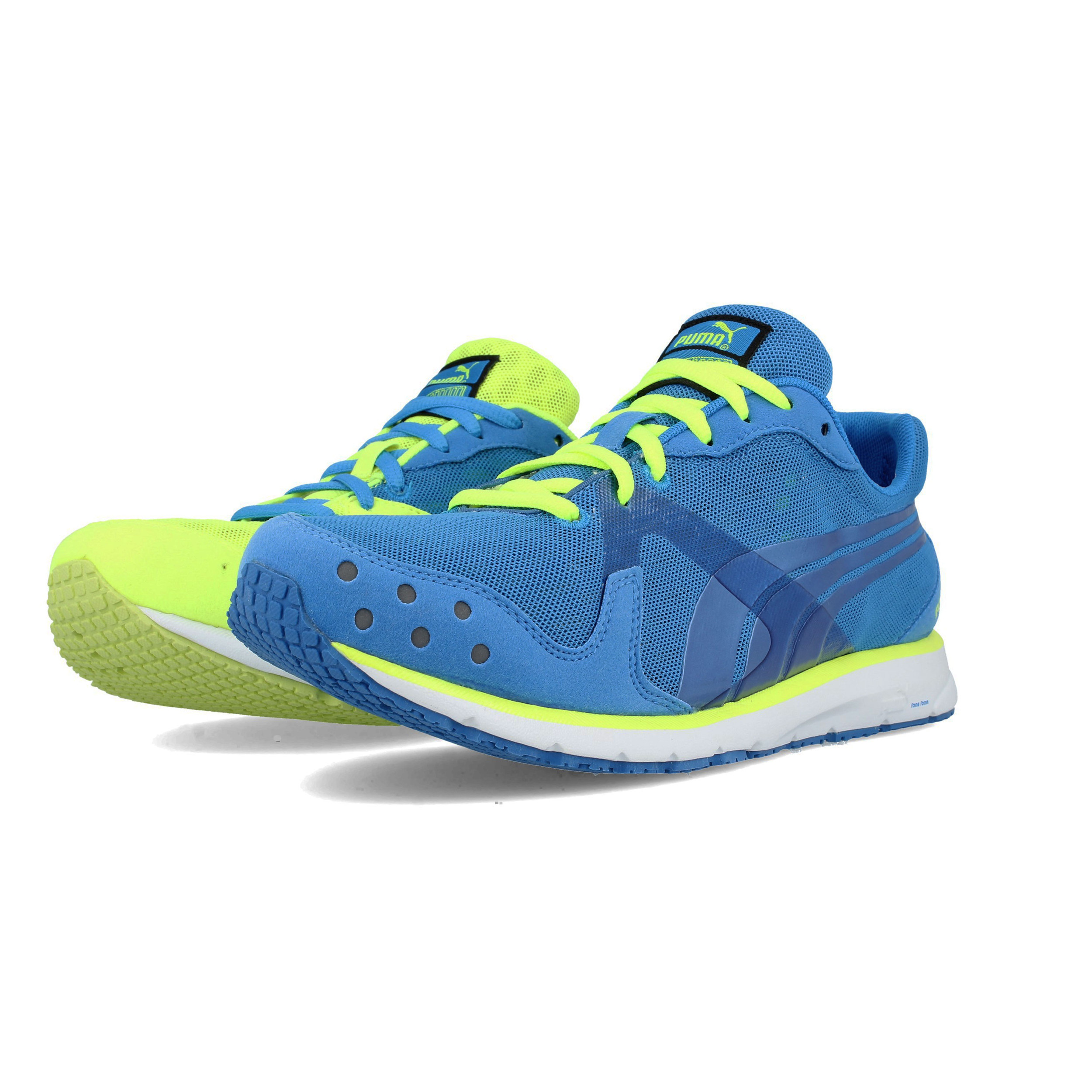 Details about Puma Mens Faas 300 R Running Shoes Trainers Sneakers Blue  Yellow Sports f5ca7f1d74cd