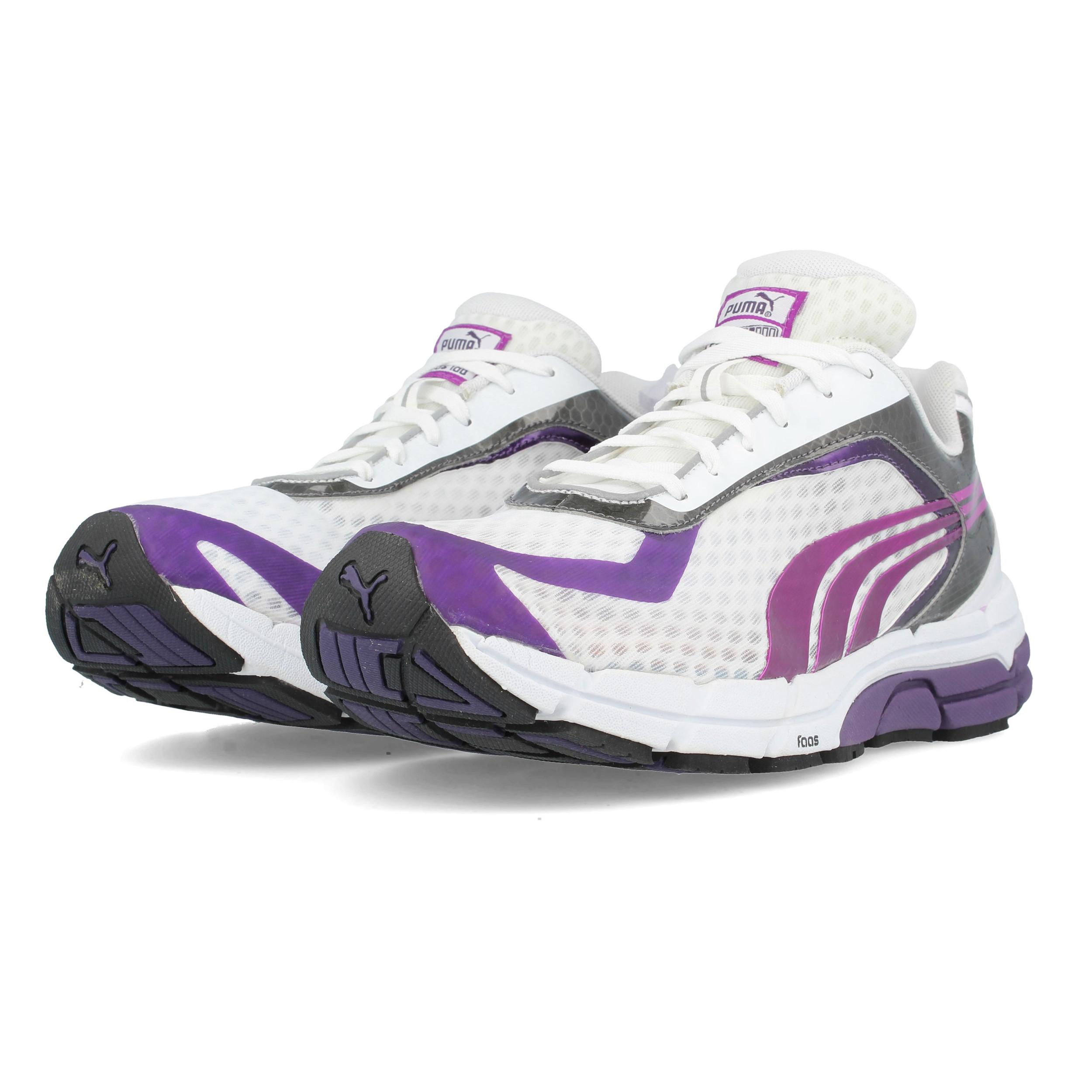 Dettagli su Puma Faas 500 S Donna Scarpe Fitness Running Sneaker Viola