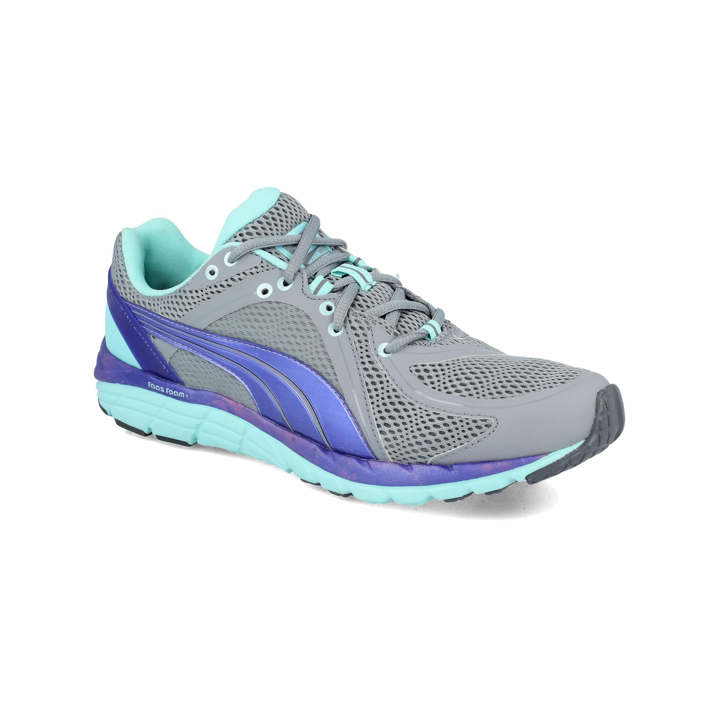 Dettagli su PUMA Donna Faas 600 S Scarpe Da Corsa Ginnastica Sport Sneakers Grigio Leggere