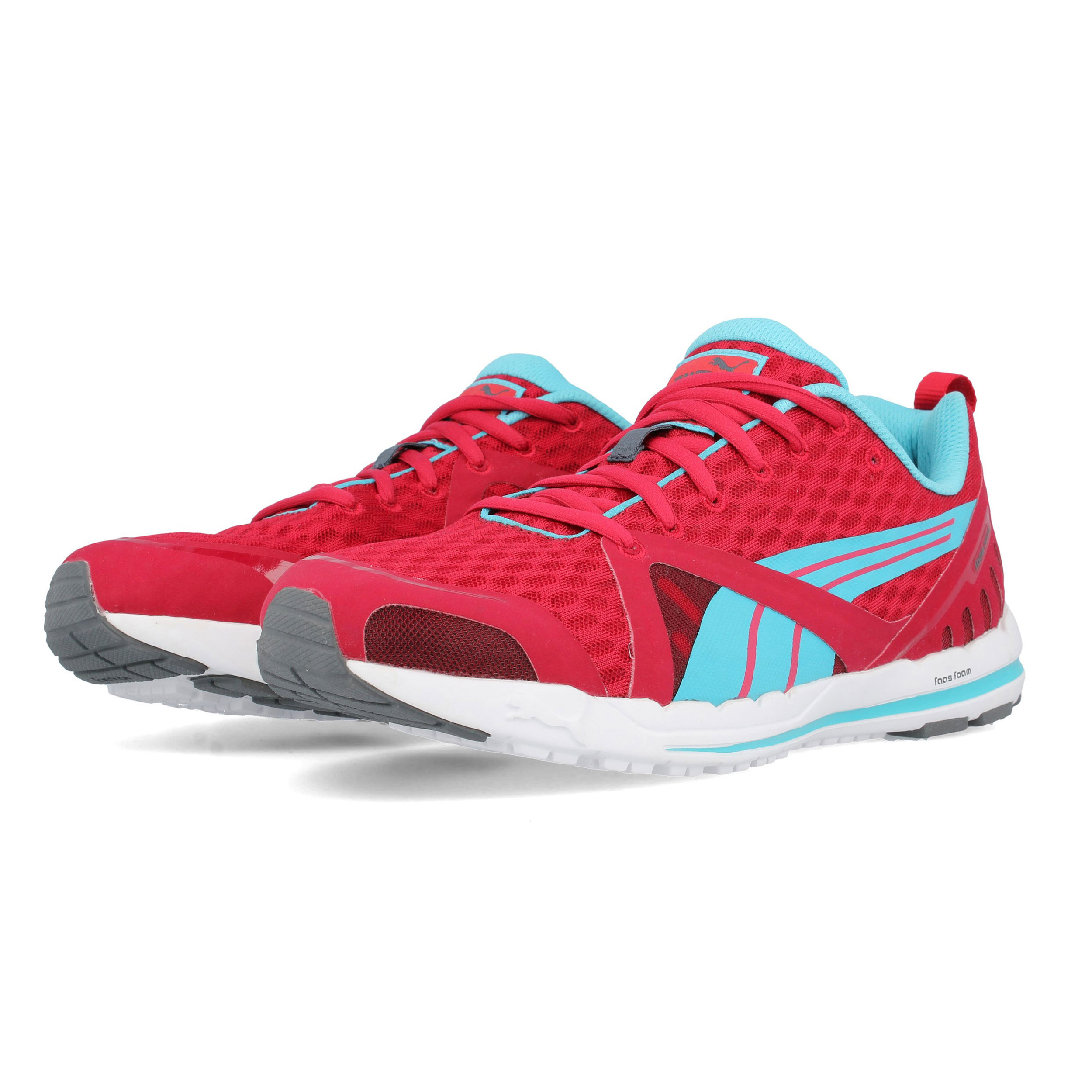 85ff95a6a1d34a Puma Mens Faas 300 S Running Shoes Trainers Sneakers Red Sports Breathable
