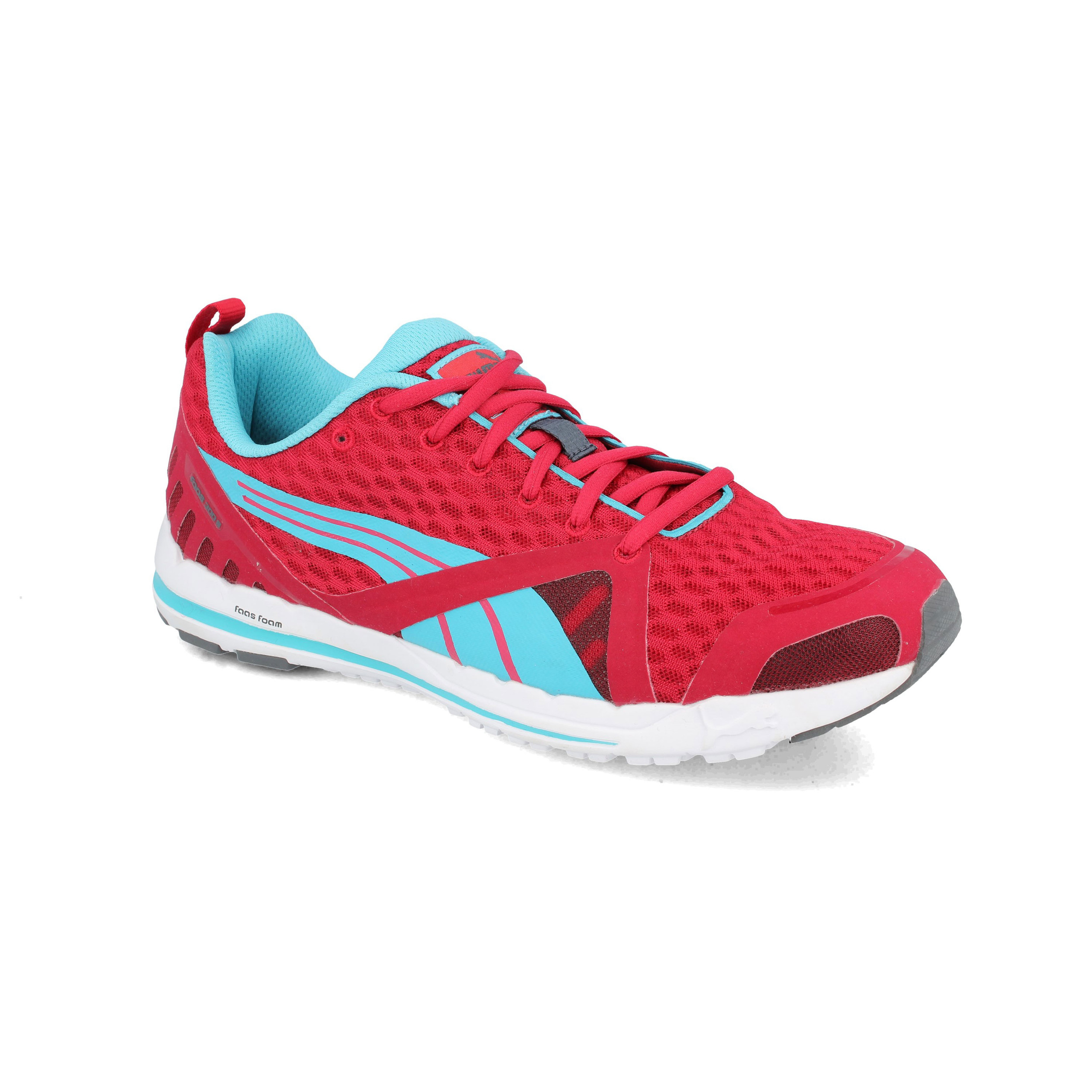 39d8a1b1dc86 Puma Mens Faas 300 S Running Shoes Trainers Sneakers Red Sports Breathable